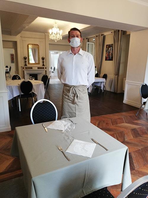 Table intérieur Brunch Chateau de Chaulnes à Grenoble